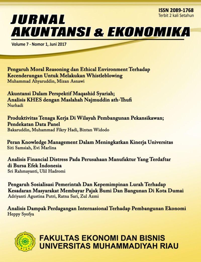 Analisis Dampak Perdagangan Internasional Terhadap Pembangunan Ekonomi Jurnal Akuntansi Dan Ekonomika